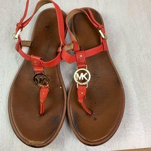 Michael Kors thong sling back sandals size 9